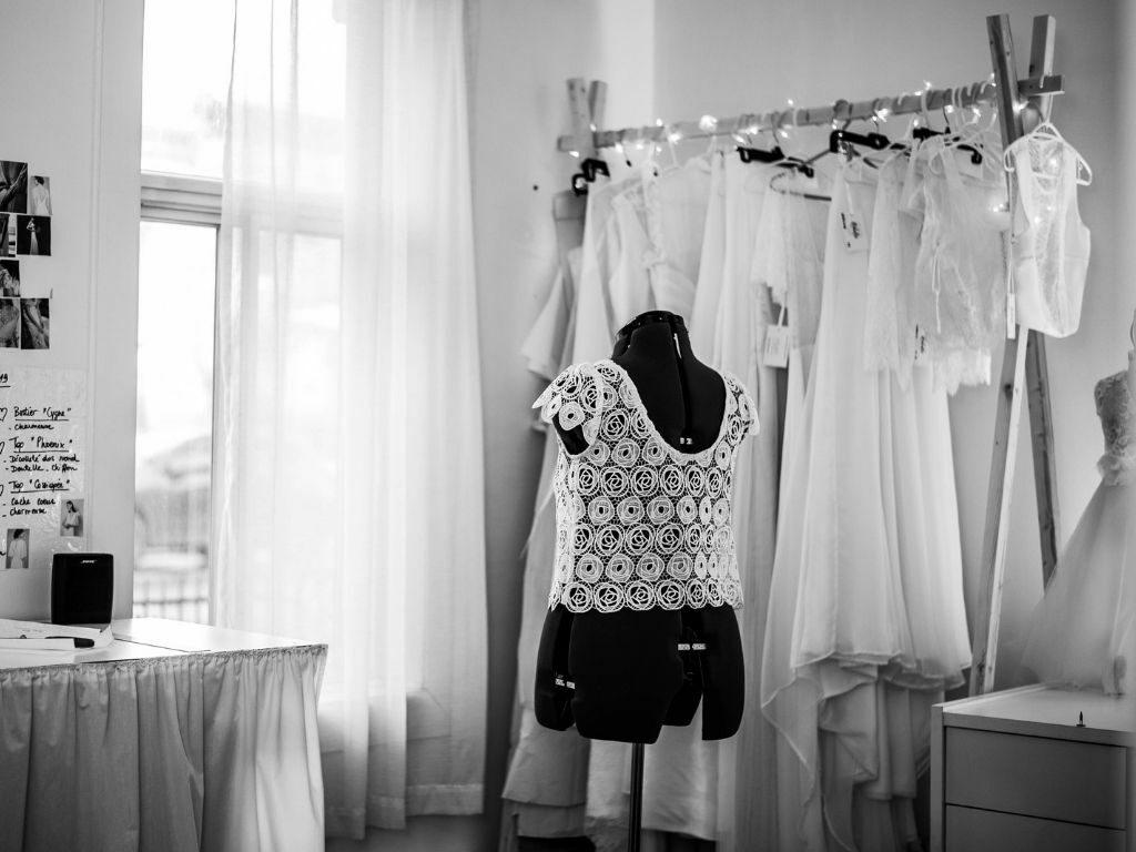 Robe de mariage simple