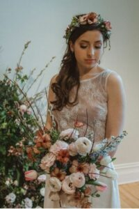 Robe de mariée style bohème